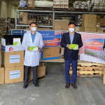 donación equipo médico Samsung
