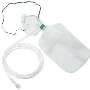 Mascarilla de Oxígeno de Alta Concentración con Reservorio Adulto