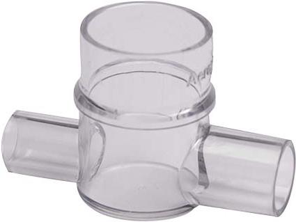 Microbomba de Nebulización Desechable c/ Adaptador en T Neonatal para Módulo AERONEB Pro X Solo