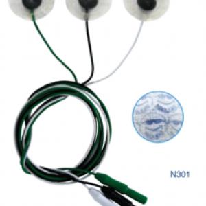 Electrodo de ECG Hidrocoloide Estándar (3/4)