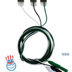 Electrodo de ECG Radiolucido Hidrocoloide Micro