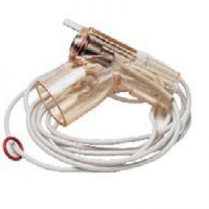 Cable Calentador Inpiratorio p/ Circuitos Infantiles (Bajos Flujos) Reusable c/ Línea Inspiratoria de 1.10 M (43 pulgadas) de Long p/ MR50 y MR730