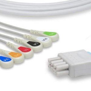 Cable de Paciente 6 Puntas Configuración AHA