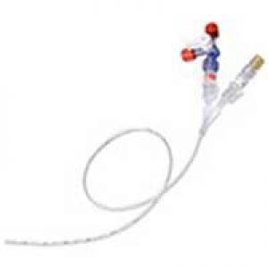 Catéter Umbilical de Silicón Doble Lumen 3.5 FR