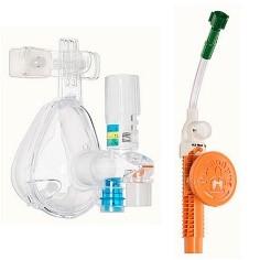 02 Max Trío Sistema CPAP para Urgencias, con ajuste de FiO2 a 30%, 60% y 90%